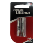 Eveready Ultima Alkaline AAA Battery 2 Nos