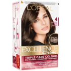 LOreal Excellence Cream Natural Dark Brown 4 Hair Colour 160 ml