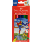 Faber Castell 12 Tri Colour Pencils 118012 1 pc
