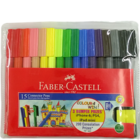 Faber Castell 10 Connector Sketch Pens With Clip Together 1 pack