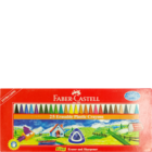 Faber Castell 25 Erasable Plastic Crayons 110mm 122725 1 pc