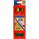 Faber Castell 9 Bi-Colour Pencil 18 Shades 1 pc