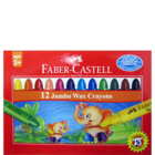 Faber Castell Jumbo Crayons 90 mm Pack Of 12 Nos 1 Pc