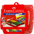 Faber Castell Oil Pastels 25 Shades 1 Pc