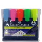Faber Castell Textliner 5 Highlight Markers 1 Pack