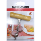 Fackelmann Corkscrew wooden grip 11cm card 49701(6) 1 pc