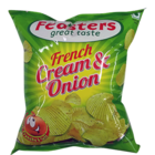 Feasters Potato Chips Cream N Onion 50 g