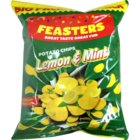 Feasters Potato Chips Mint Lemon 60 g