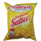 Feasters Potato Chips Salted 50 g
