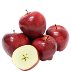 Fresh Apple Red Delicious Pack of 4 Nos 1 pc