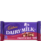 Cadbury Dairy Milk Fruit & Nut Chocolate 200 g