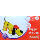 Funskool Pull Along Digger The Dog 1 Pc