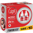 Good Knight Active Twin Refill Lavender 45 ml
