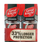 Good Knight Advance Active + Refill 33 % Extra 4 X 45 ml
