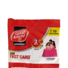 Good Knight Advance Fast Card 3 min Instant Action Card Packs 10 pc