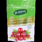 Happilo Californian Premium Sweet Dried Sliced Cranberries 200 g