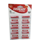 Eveready Heavy Duty AAA 1.5 V 1012 Battery  Pack  of 10 pc