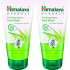 Himalaya Purifying Neem Face Wash Saver pack 2 x 150 ml