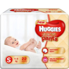 Huggies Ultra Soft Pants Small Size Premium Diapers 22 pcs