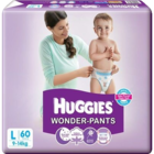 Huggies Wonder Pants Large 9-14 Kg 60 pcs