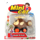 I Simple Life Jb Cartoon Friction Toy-PullBackCar BP MKG718697-8823-884 1 pc