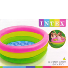 Intex 2 Ring Sunset Glow Baby Pool in Box Pack 1 pc