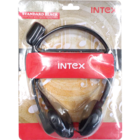 Intex Standard Black Wired Headset With Mic 1 pc