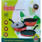 Jagdamba Reliable Non Stick Gift Set Of 3 D 1 pc