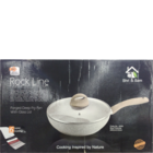 Jagdamba Rockline Deep Frying Pan With Lid 24 cm 1 Pc