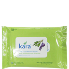 Kara Make Up Removal Wipes With Seaweed & Lavender 10 Nos