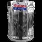Khatana Manak Stainless Steel Plain Glass Promo 7 1 pc