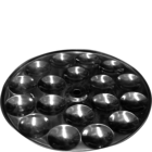 Khatana Manak Steel Mini Idly Plate 1 pc