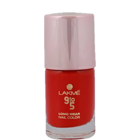 Lakme 9 To 5 Long Wear Nail Colour Red Boss 9 ml