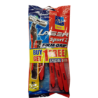 Laser Sport Firm Grip Razors 1 pc