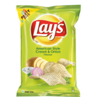 Lays Potato Chips - American Style Cream & Onion Flavour 180 g