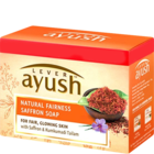 Lever Ayush Natural Fairness Saffron Soap 4x100 g
