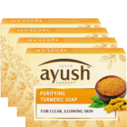 Lever Ayush Purifying Turmeric Soap 4x100 g