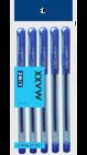 Linc Maxx Gel Pen Blue Pack Of 5 Nos 1 pc