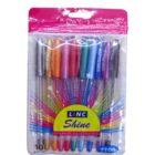Linc Shine Glitter Pen Pack Of 10 Nos 1 Pc