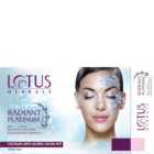 Lotus Herbals Radiant Platinum Facial Kit 200 g
