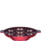 Macclite Eco & Non Stick Appam With Out Handle 7 Kulis 1 pc