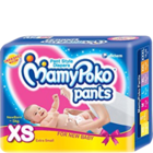 Mamy Poko 3-5 Kg Extra Small Pant Style Diapers 46 Nos