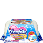 Mamy Poko Pure & Soft Wipes With Fragrance Box 50 pc