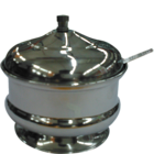 Khatana Manak Steel Padam Ghee Pot 3 1 pc