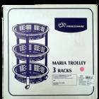 Princeware Maria Trolley 3 Racks 2783-3 1 pc