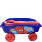 Quixot Toy Wagon Assorted Character 1 pc