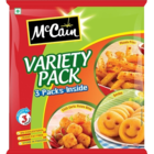 McCain Variety Pack,Chilli Garlic Potato bites,Smiles,Masala Fries 550 g