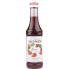 Monin Strawberry Flavored Syrup 250 ml