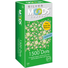 Moods Silver Condoms 1500 Dots Scented 12 pc