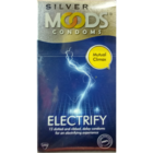 Moods Silver Electrify Condoms 12 pc